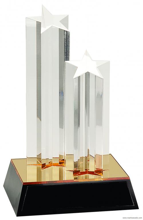 Double Star Column Acrylic