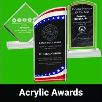 View our Acrylic Awards