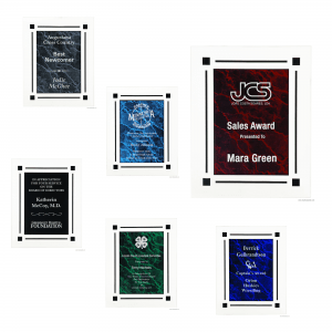 Acrylic Clear Plaques