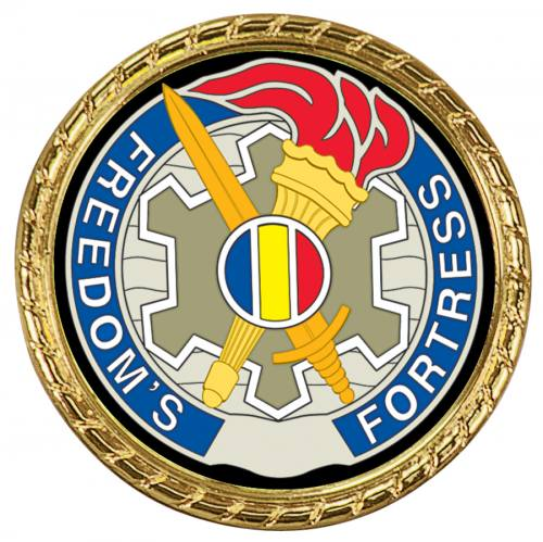 Challenge Coin with Insert