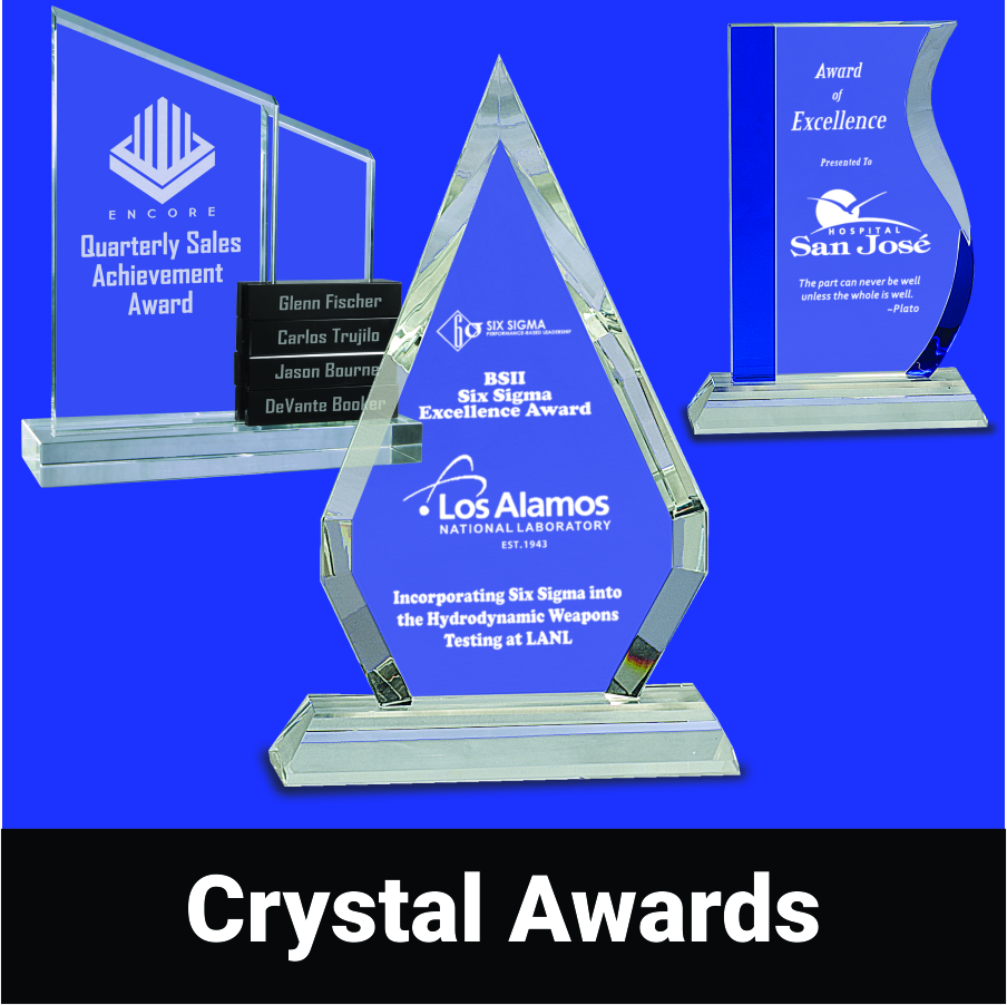 View our Crystal Awards