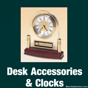 Desk Accessories & Clocks