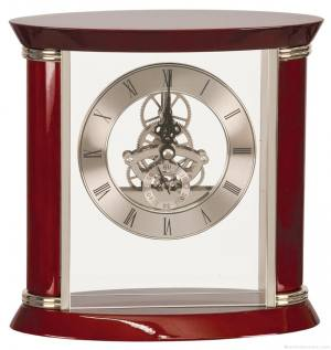 Woodston Piano Finish Clock