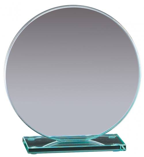 Round Jade Glass Awards