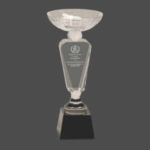 Victory Trophy Crystal Cup