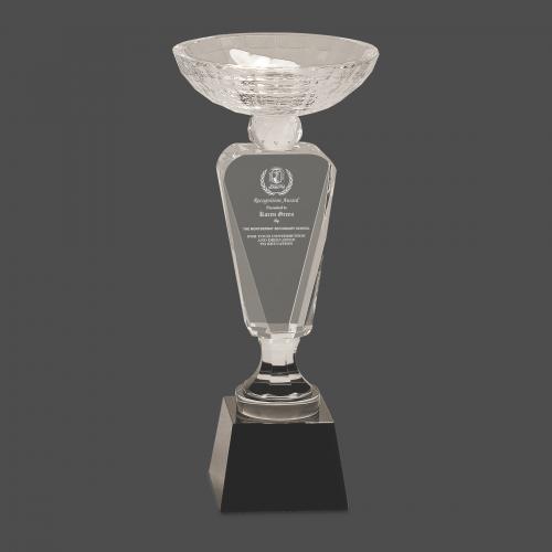 Trophy Crystal Cup