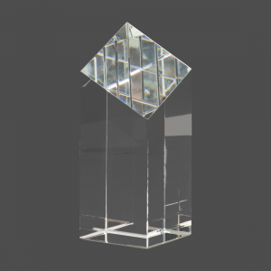 "6"" Crystal Diamond Top Pillar"