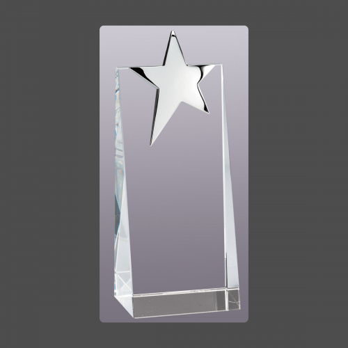 Silver Star Crystal Tower
