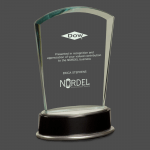 Modernistic Fan Glass Award