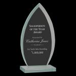 Oval Jade Glass Award