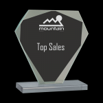 Diamond Cut Glass Award