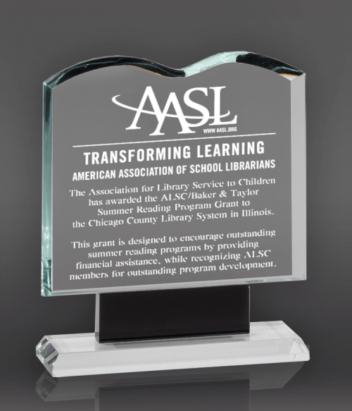 Clear Crystal Book Award