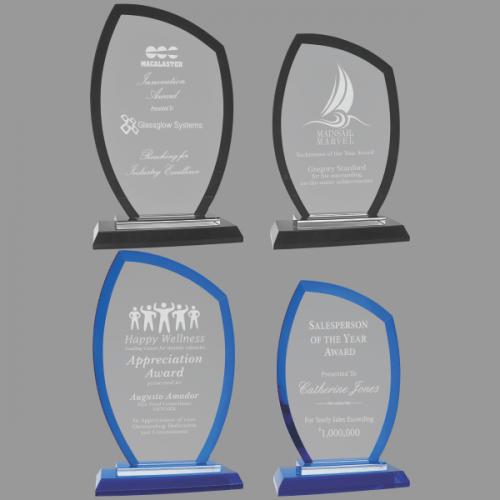 Regal Peak Glass Awardward