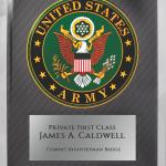Army Hero Plaque