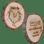 Cottonwood Engraved Plaque