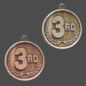 3rd Place Medal