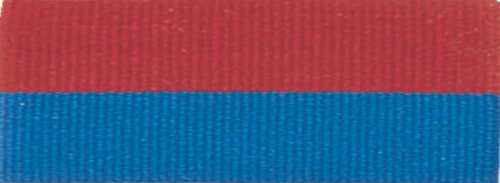 """1 1/2"""" Red/Blue Neck Ribbon with Snap Clip"""