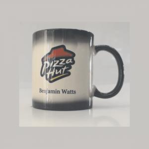 11 oz. Black to White Color Changing Mug