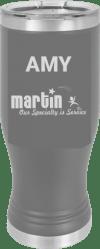 MA6119 - Dark Grey 20 oz Pilsner Tumbler