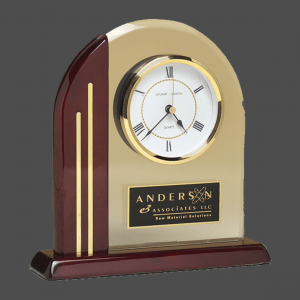 Chicago Arch Desk Clock
