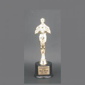 "7"" Male Achiever Gold Plastic Trophy"