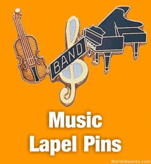 Music Lapel Pins