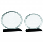 Oval accent glass