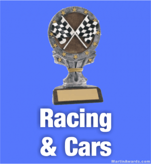 Race Car Trophies