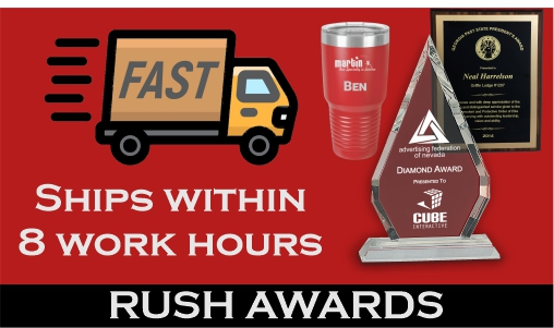 Rush Awards Gifts and Trophies