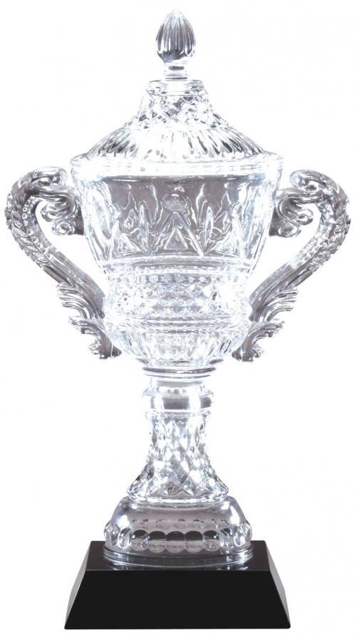 Crystal Vase on Black Base