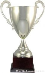 Silver Trophy cup of Demeter