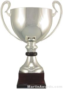 16-1/2″  ARG 1000 Silver Plated Trophy Cup 1