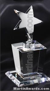 Silver Star Crystal Award
