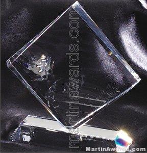 Clear Diamond Crystal Award