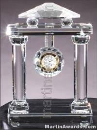 Genuine Crystal Clock Glass Awards