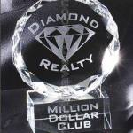 4″ x 5 1/2″ Genuine Prism Optical Crystal Glass Awards 1