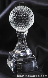 Golfball Crystal Glass