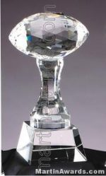 Football Crystal Glass