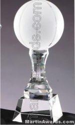 Basketball Crystal Glass