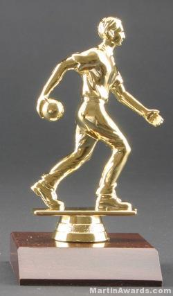 Male Bowler Trophy 1