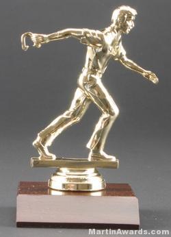 Male Horseshoe Pitcher Trophy