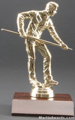 Male Billiards/Pool Trophy