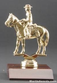 Western W/Rider Trophy