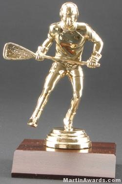 Male Lacrosse Trophy