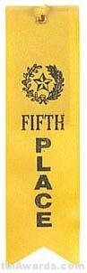 Small Ribbon, Fifth Place Ribbons
