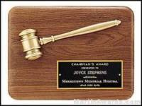 Justice Served Gavel Plaque