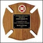 Fireman Award Plaque – Cross Design 1