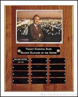 Plaque - Certificate/Photo Perpetual Plaque