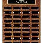 Perpetual Plaque – 40 Black Brass Plates 1