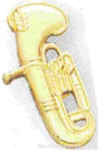 """3/4"""" Baritone Lapel Pin"""